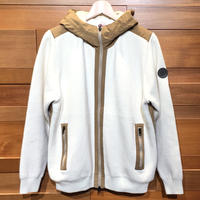 JWO [41-5202011 ] モコモコ接結【前開きパーカー】- オフホワイト(05)