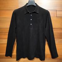 MOCO [ 21-2202911 ] 迷彩裏起毛【長袖4Bレギュラーカラーシャツ】 - ブラック(19)
