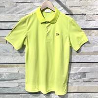 Camicia Sportiva+ [ 51-2201241 ] アイスコットンJQ/OD半袖ジャガードシャツ - イエロー(32)