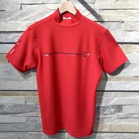Camicia Sportiva+ [ 51-2201243 ] プラスリッチ半袖モックカットソーシャツ - レッド(63)