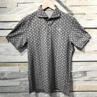 MOCO [ 21-2201343 ] プラネットプリント半袖シャツ - グレー(15)