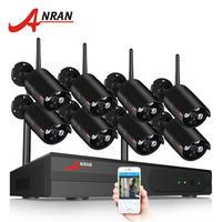 anran 防犯カメラ 8台セット NVRキット ワイヤレス 説明書付き アプリ対応