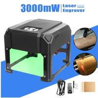 自作DIY 高精度 ミニレーザー彫刻機 AC100-240V 3000mW