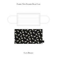 二つ折り マスクケース / キャッツ デザイン
