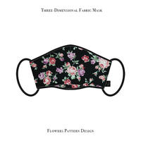 Three-Dimensional Fabric Mask / Flowers Pattern Design