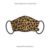 Three-Dimensional Fabric Mask / Leopard Pattern Design
