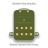 【 ショルダー バッグ / オリジナル ピラミッド スタッズ  デザイン 】