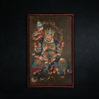 『वैश्रवण・北方多聞天』ベルクロワッペン