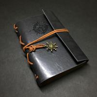 『航海士の手帳・黒橡』レザー製表紙