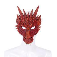 【黒・紅・緑・紫・青・黄】ドラゴンマスク