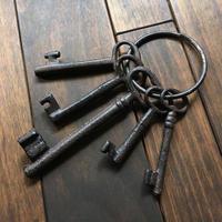 古びた鍵束