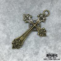 十字架 67.74mm エクソシスト風 クロス  Cross 金属製 ブラスカラー 商品番号C-0009