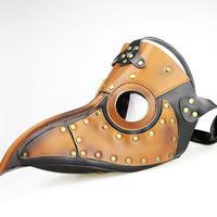 中世の疫病医者ペスト防護マスク