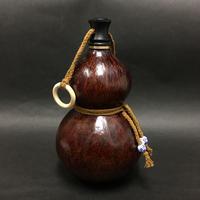【高さ20.5cm】お酒の瓢箪(ひょうたん)加工済み品  水筒