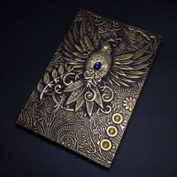 『鳥の書』黄銅色