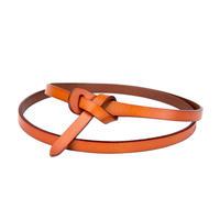 シンプル 革製ベルト 加工素材 110cm 5色 ブラウン・ダークブラウン・ブラック・ホワイト・ダークレッド