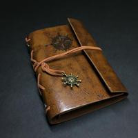 【琥珀色(こはくいろ)】航海士の手帳 レザー製表紙