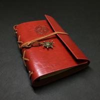 【レッド】航海士の手帳 レザー製表紙