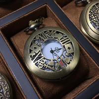 『どう見ても不思議の国のアリスをイメージにした懐中時計』