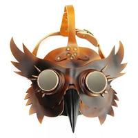 『梟(フクロウ)』ペスト防護マスク スチームパンク風