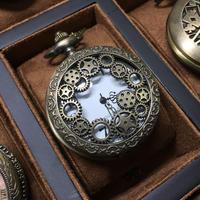 『歯車に囲まれた懐中時計』