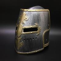 騎士の兜 バイザー可動 プラスチック製