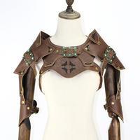 『革製肩鎧』ショルダーソフトレザーアーマー