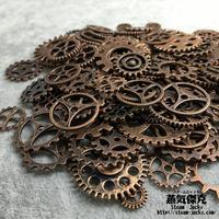 【50gセット】スチームパンク歯車素材 ギア  商品番号GS-0003