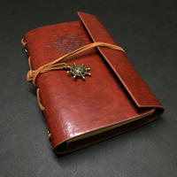 『航海士の手帳・鳶色』 レザー製表紙