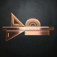 『銅尺』アンティーク道具
