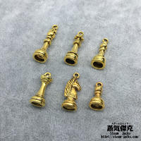 チェス風素材セット  金属製ハンドメイド素材 商品番号A2-0009