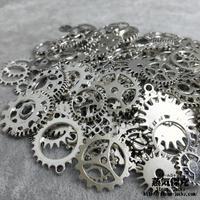 【50gセット】スチームパンク歯車素材 ギア  商品番号GS-0004