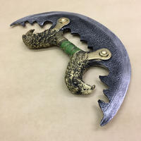 【LARP】ナックルナイフ 鷹の一族 アサシン 刺客 ポリウレタン材質 大人サイズ 安全 コスプレ