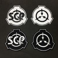 【SCP財団】刺繍ベルクロワッペン マジックテープ 識別章