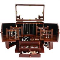 木製アクセサリー収納箱