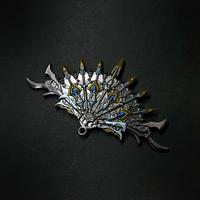 『扇・孔雀』6:1スケール金属製模型