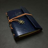 【深藍(こきあい)】航海士の手帳 レザー製表紙