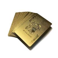 黄金のトランプ