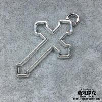 【2点セット】十字架 クロス  Cross 金属製 商品番号C-0028