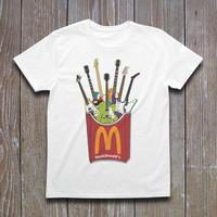 Music Donald's ギターポテト Tシャツ