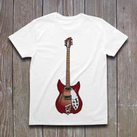 Rickenbacker330 ver.2 Tシャツ
