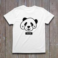 BLUSH PANDA Tシャツ