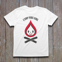 CAMP FIRE GIRL Tシャツ