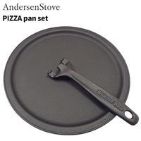 AndersenStove ピザパンセット 541268 薪ストーブ ダッチオーブン キャンプ アウトドア 遠赤外線 岩鋳 南部鉄器