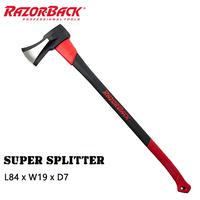 Razor-Back スーパースプリッター ファイバーシャフト #4114000 斧 アウトドア 薪割り