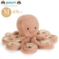 Jellycat ジェリーキャット Ocean Life(オーシャンライフ)たこのぬいぐるみ Mサイズ Odell Octopus Medium_OD2OC