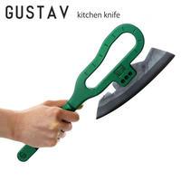 amenoma アメノマ GUSTAV グスタフ キッチンナイフ 量産型包丁 斧型 完全手打鍛造 KG-06