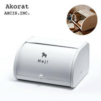 Akorat ローラートップブレッド缶S ダーラナホース A650 パンケース キッチン収納箱 AXCIS