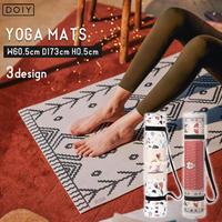DOIY ドーイ Yoga Mats ヨガマット 厚さ 5mm 絨毯モチーフ インテリア おしゃれ ペルシャ絨毯 ベルベル絨毯 テラゾ