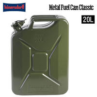 Hunersdorff ヒューナースドルフ Metal Fuel Can Classic 20L ポリタンク 燃料タンク 携行缶 灯油タンク ウォータータンク